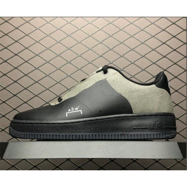 Mens A COLD WALL x Nike Air Force 1 Low Black Size