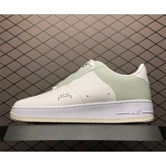 Mens A COLD WALL x Nike Air Force 1 Low White Shoes