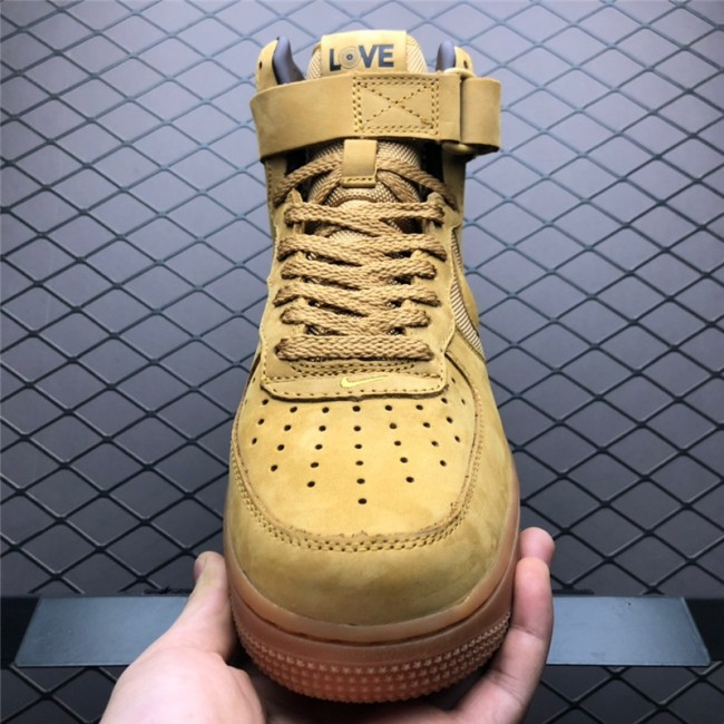 Mens Bobbito Garcia x Nike Air Force 1 High Sanded Gold