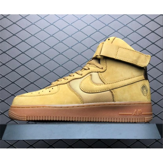 Mens Bobbito Garcia x Nike Air Force 1 High Sanded Gold