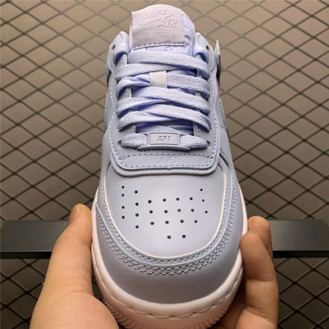 Womens Nike Air Force 1 Shadow Hydrogen Blue White