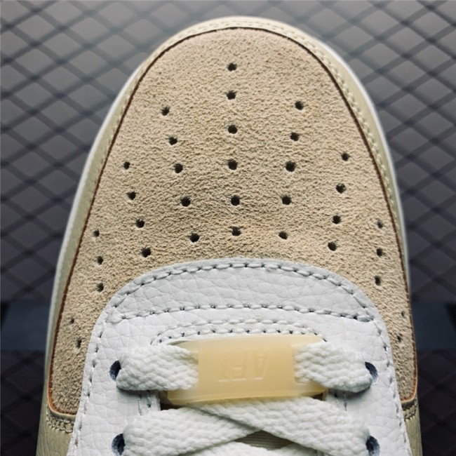 Mens Nike Air Force 1 Low 07 Desert Ore Ivory