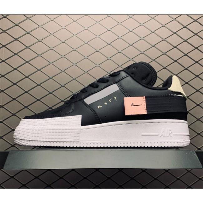Mens/Womens Nike AF1 Air Force 1 Low Type Black Online