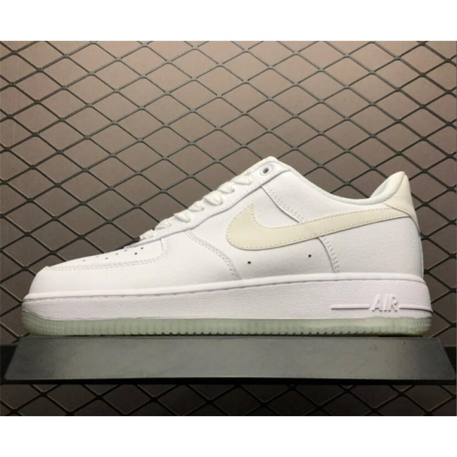 Mens/Womens Nike Air Force 1 07 Essential White Sole Glow in the Dark