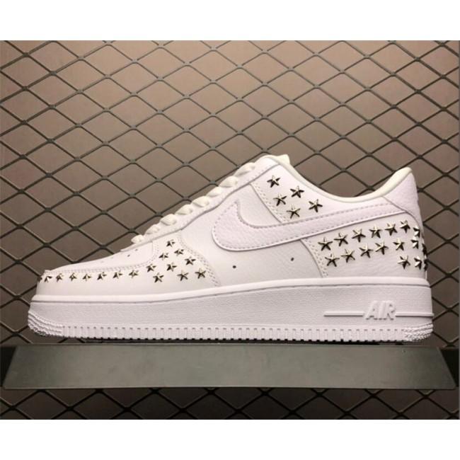 Mens/Womens Nike Air Force 1 07 XX Stars Pack White