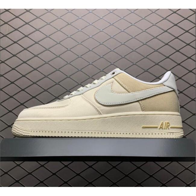 Mens/Womens Nike Air Force 1 Low 07 Premium Pale Ivory Light Cream