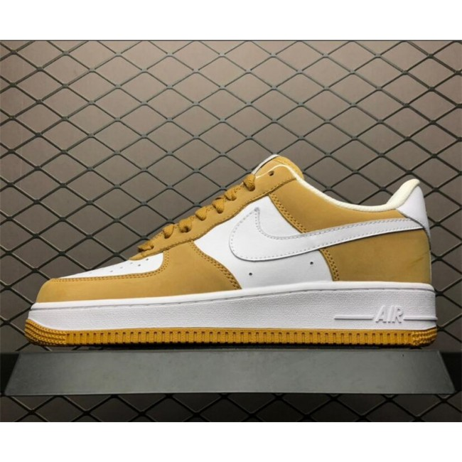 Mens/Womens Nike Air Force 1 Low Barcode Wheat