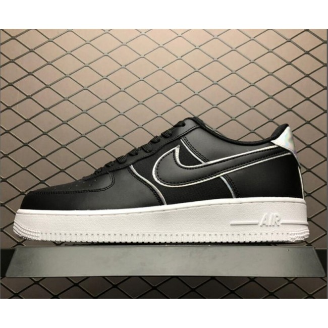 Mens/Womens Nike Air Force 1 Low Black Iridescent