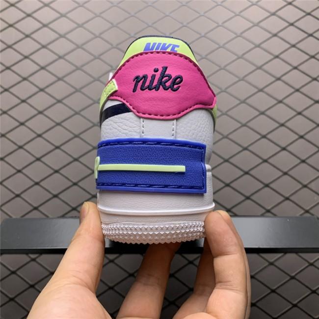 Womens Nike Air Force 1 Shadow Sapphire White