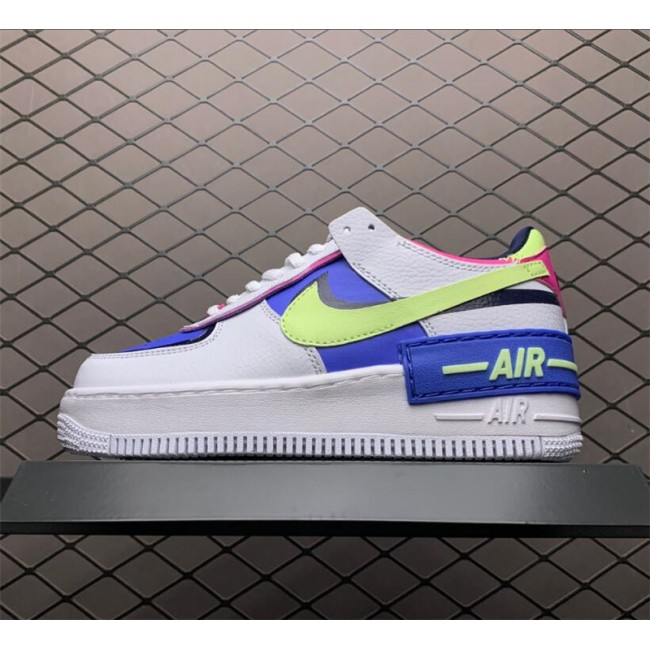 Womens Nike Air Force 1 Shadow Sapphire White