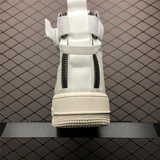 Mens/Womens Nike SF-AF1 Air Force 1 Mid Triple Ivory AA6655-100