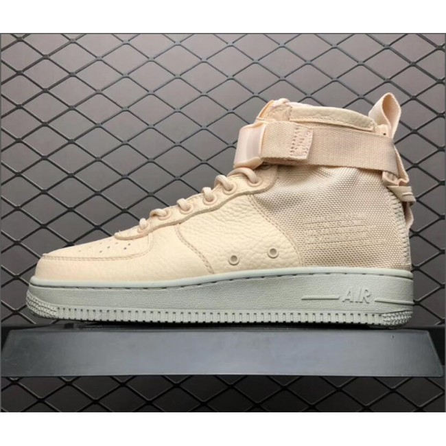Womens Nike SF-AF1 Air Force 1 Mid Orange Quartz AA3966-800