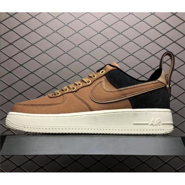 Mens/Womens Carhartt WIP x Nike Air Force 1 Low Ale Brown Sail-Ale Brown