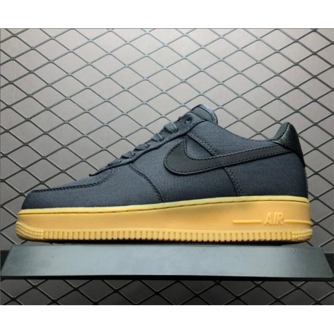Mens/Womens Nike Air Force 1 07 Black Gum AQ0117-002