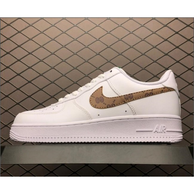 Mens/Womens Nike Air Force 1 07 Low White AR7720-101