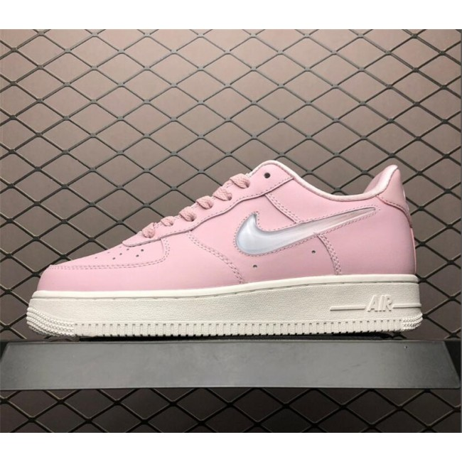 Womens Nike Air Force 1 07 Premium Plum Chalk Obsidian Mist-Summit White