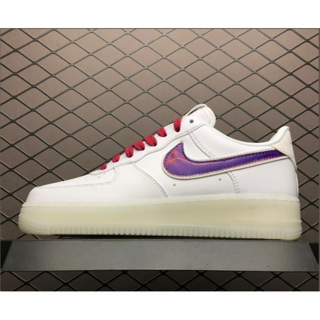 Mens/Womens Nike Air Force 1 De Lo Mio White University Red-Sport Blue