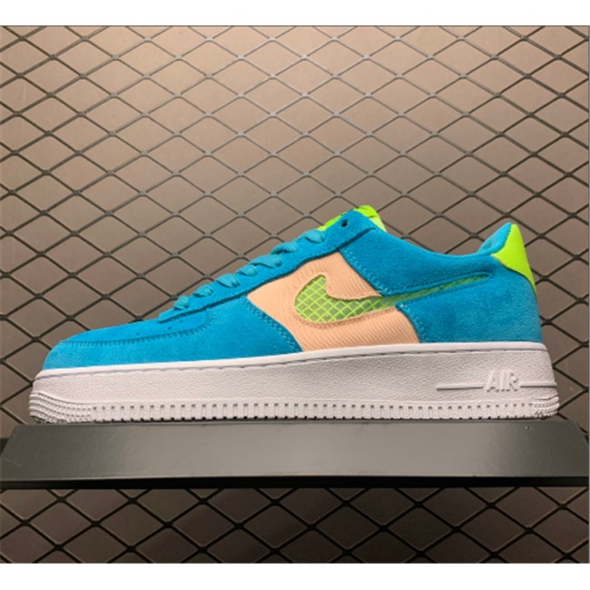 Mens/Womens Nike Air Force 1 Fresh Air Oracle Aqua