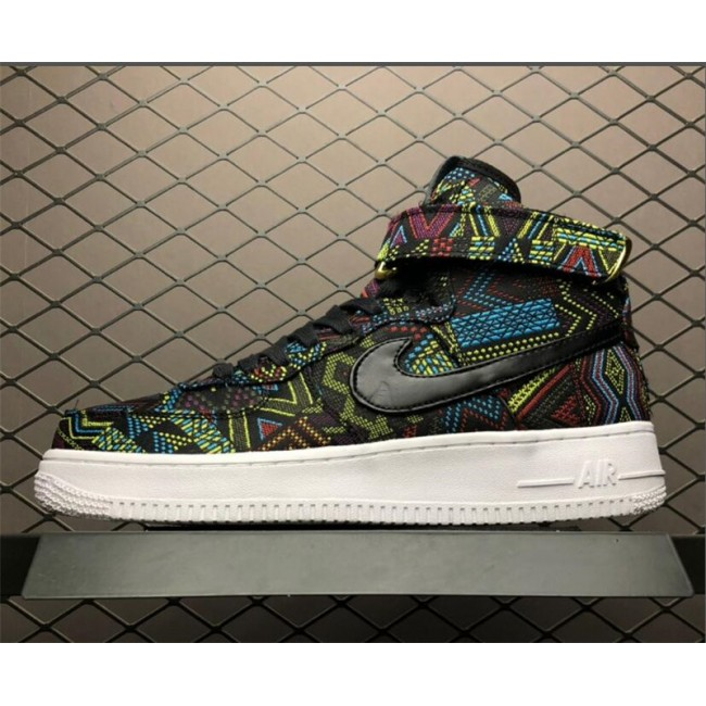 Mens Nike Air Force 1 High BHM QS Black History Month
