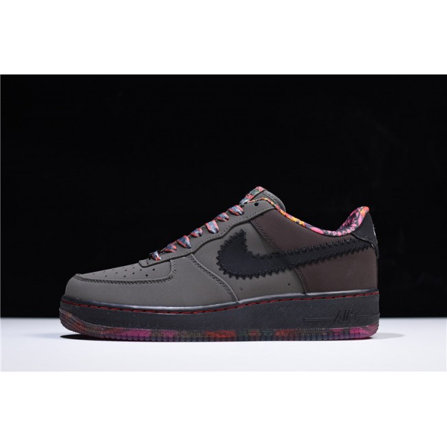Mens Nike Air Force 1 Low Premium Black History Month Midnight
