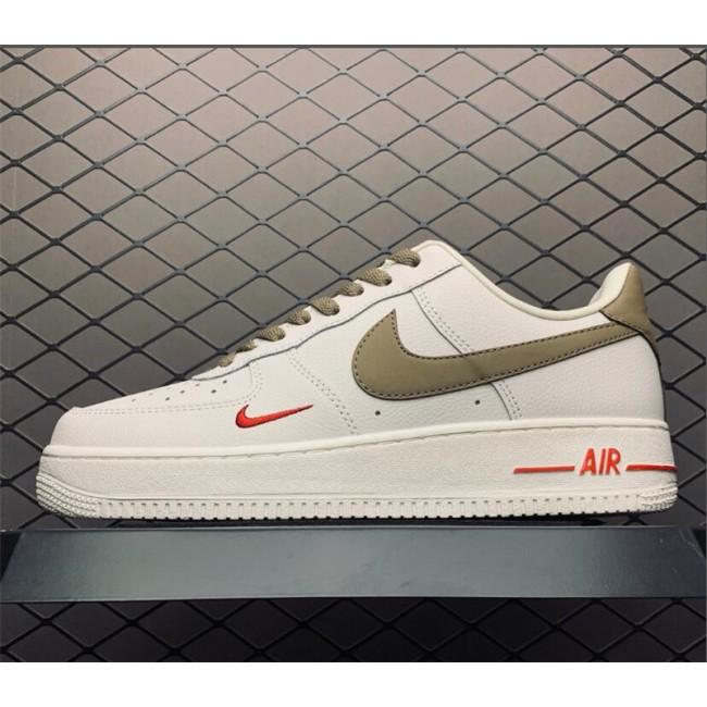 Mens/Womens Nike Air Force 1 Low Premium White Brown In Store