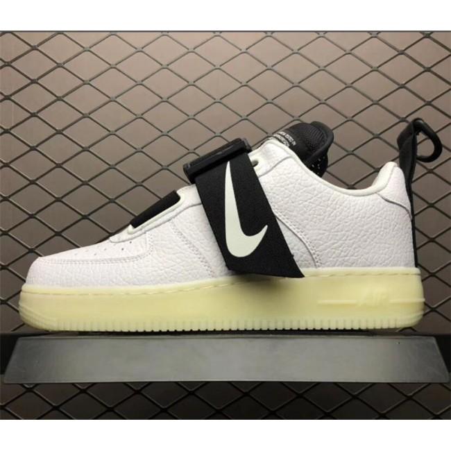 Mens/Womens Nike Air Force 1 Low Utility QS White Black