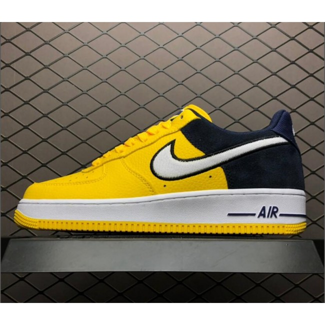 Mens/Womens Nike Air Force 1 Yellow Navy