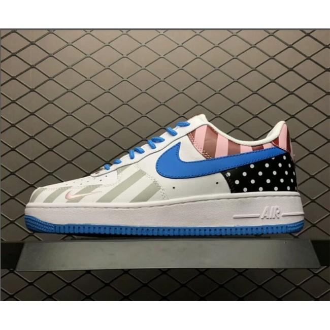 Mens/Womens Parra x Nike Air Force 1 07 White Multi-Color