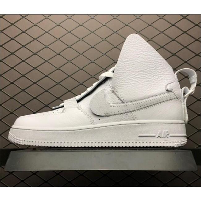 Mens/Womens PSNY x Nike Air Force 1 High Triple White