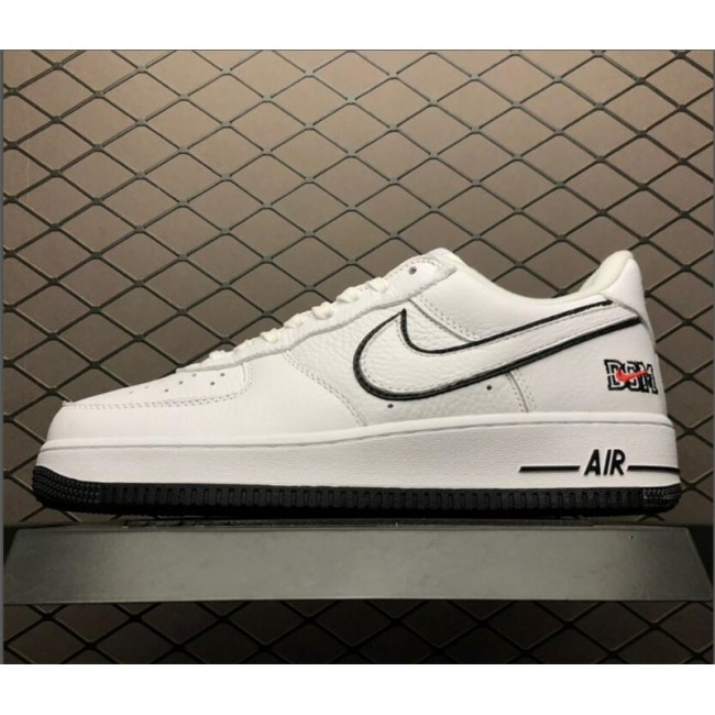 Mens/Womens Dover Street Market x Air Force 1 Low NYC White Black