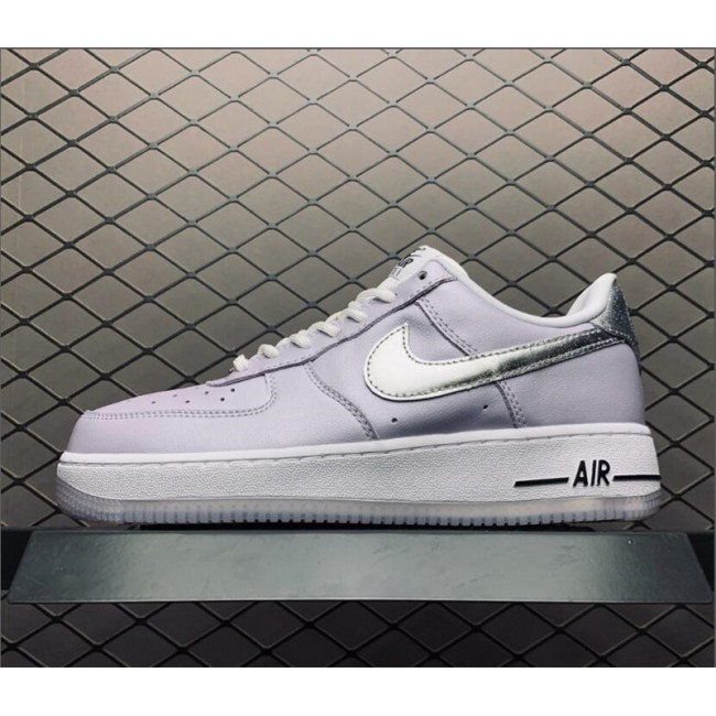 Womens Ladies Nike Air Force 1 07 Metallic Lilac Oxygen Purple For
