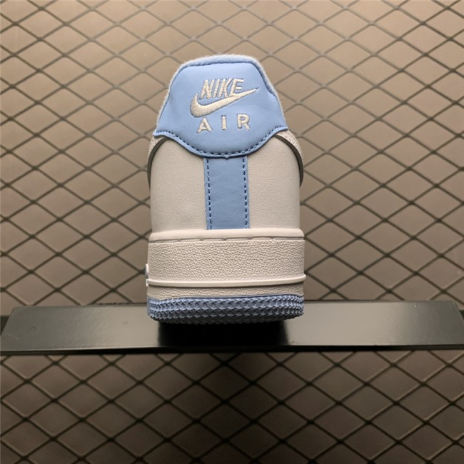 Mens/Womens Men and Nike Air Force 1 Low White Hydrogen Blue