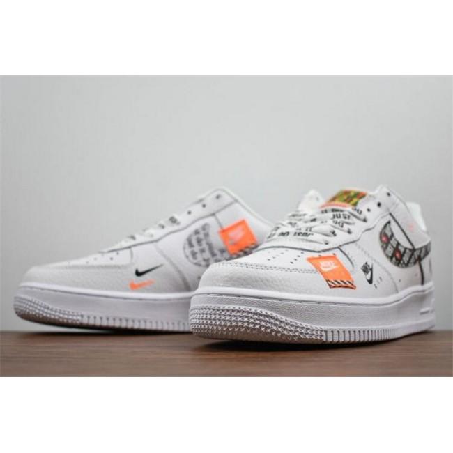 Mens/Womens Nike Air Force 1 07 Premium Just Do It AR7719-100