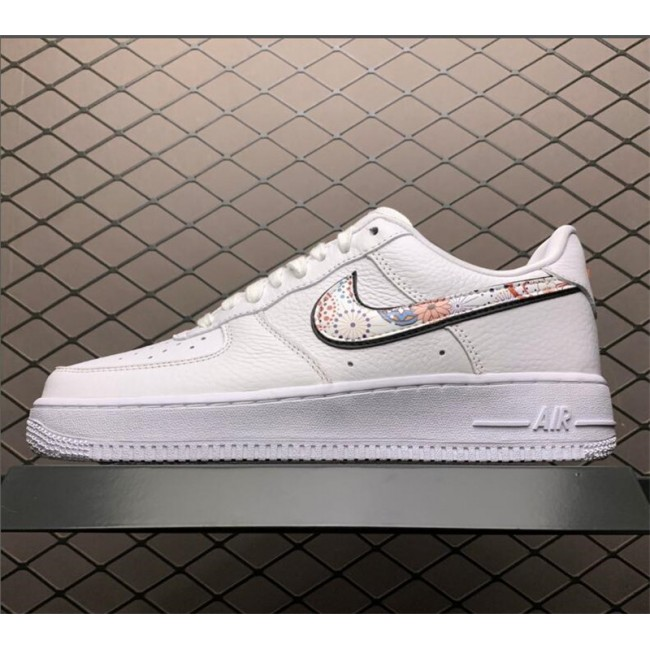 Mens Nike Air Force 1 LNY Lunar New Year White