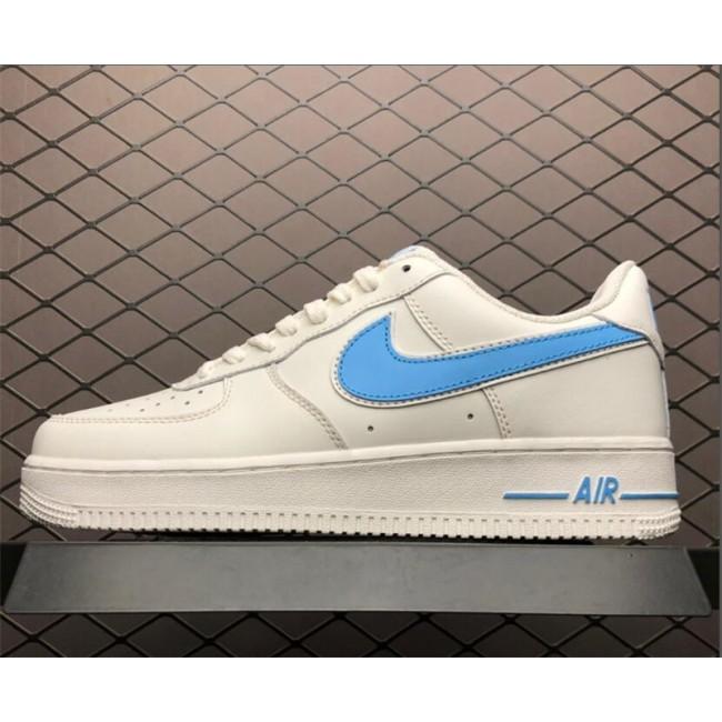Mens/Womens Nike Air Force 1 07 3 White University Blue