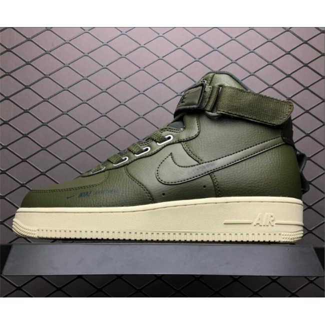Mens/Womens Nike Air Force 1 High Utility Sportswear Green
