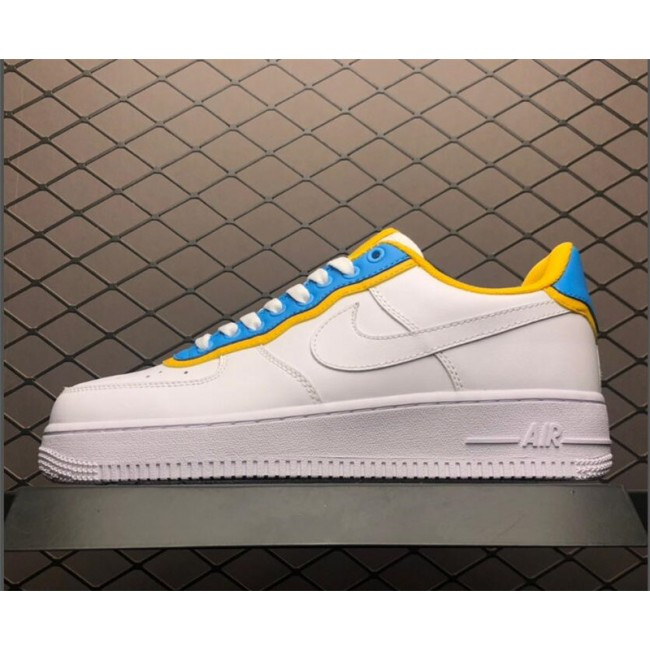 Mens/Womens New Nike Air Force 1 Low SE Peach Sky Blue