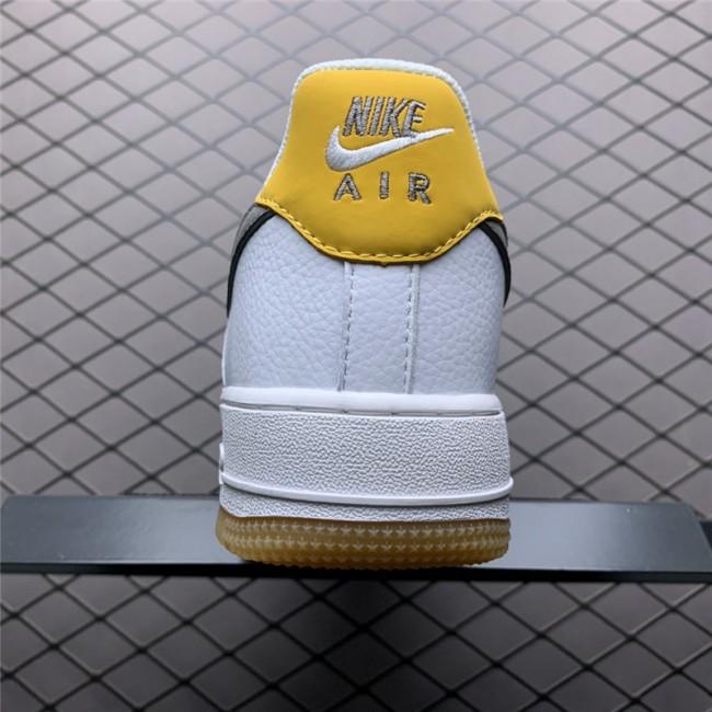 Mens/Womens Nike AF1 07 White Grey-Yellow CJ8836-100
