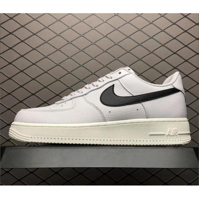 Mens/Womens Nike Air Force 1 07 AF-1 Low Vast Grey Black