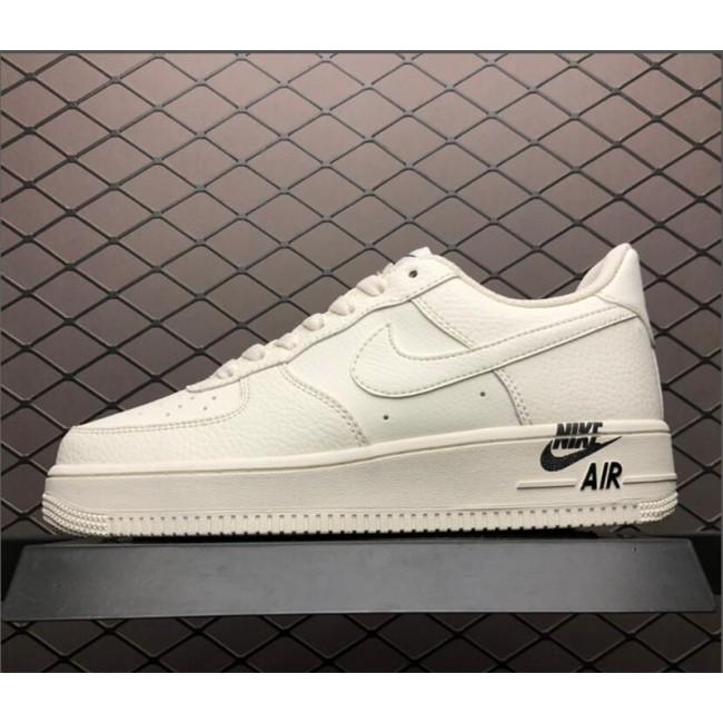 Mens/Womens Nike Air Force 1 07 Low LTHR Emblem Bone