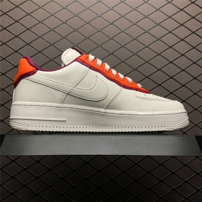 Mens New Nike Air Force 1 07 Low Sail Red On Sale
