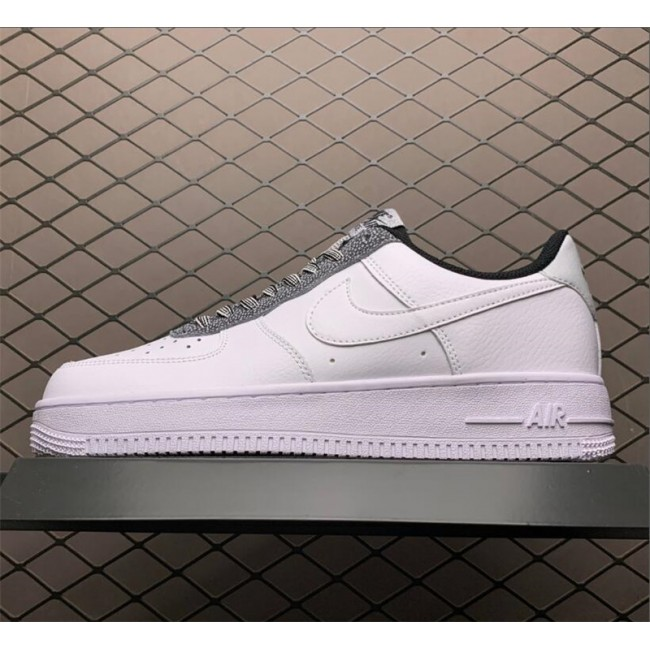 Mens/Womens Nike Air Force 1 07 Low White Grey On Sale