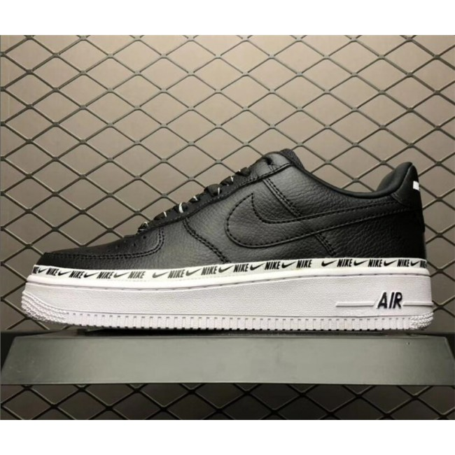 Mens/Womens Nike Air Force 1 07 SE Premium Black White