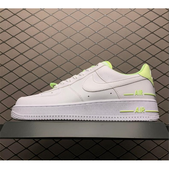Mens/Womens Nike Air Force 1 Double AIR White Volt On Sale