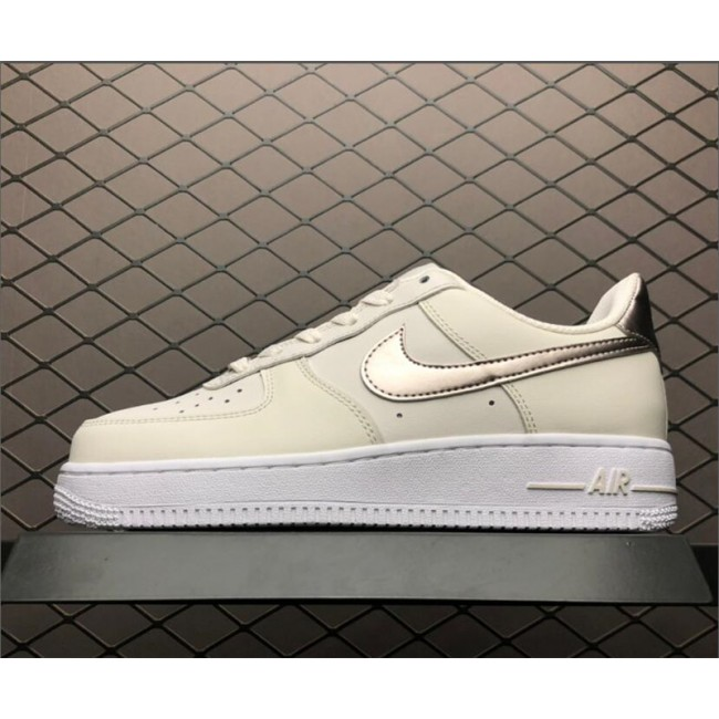 Mens/Womens Nike Air Force 1 GS Low Phantom Metallic Red Bronze
