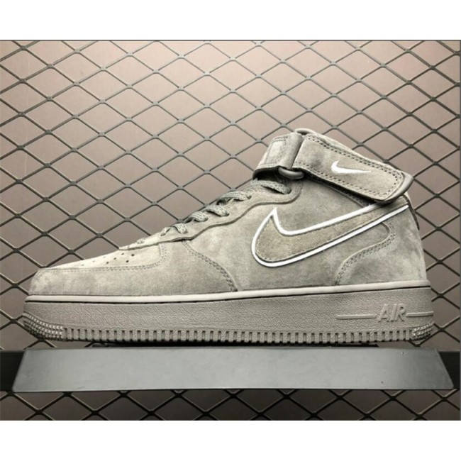 Mens/Womens Nike Air Force 1 High Dark Stucco AA1118-002
