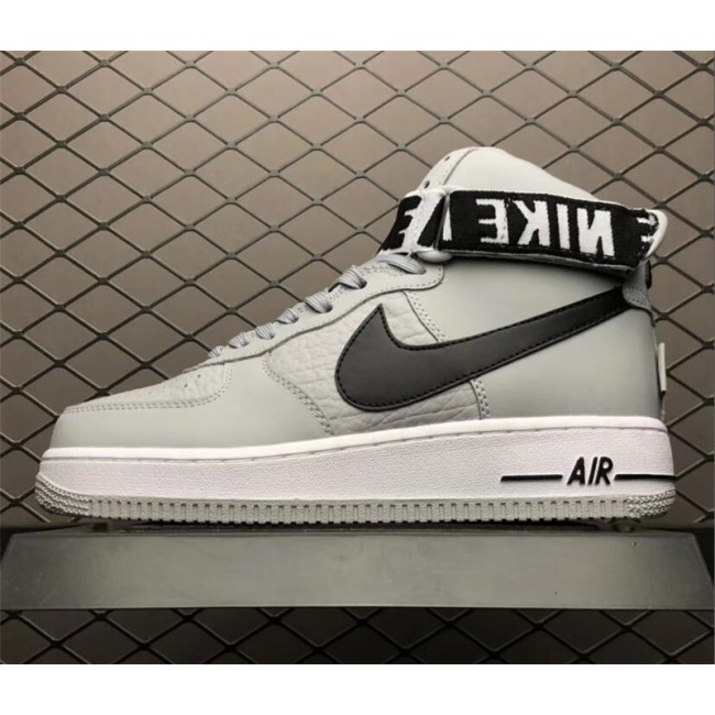 Mens/Womens Nike Air Force 1 High NBA Statement Game Flight Silver Black