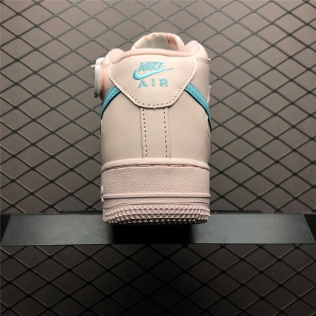 Womens Nike Air Force 1 High Pink Blue Size 882096-600