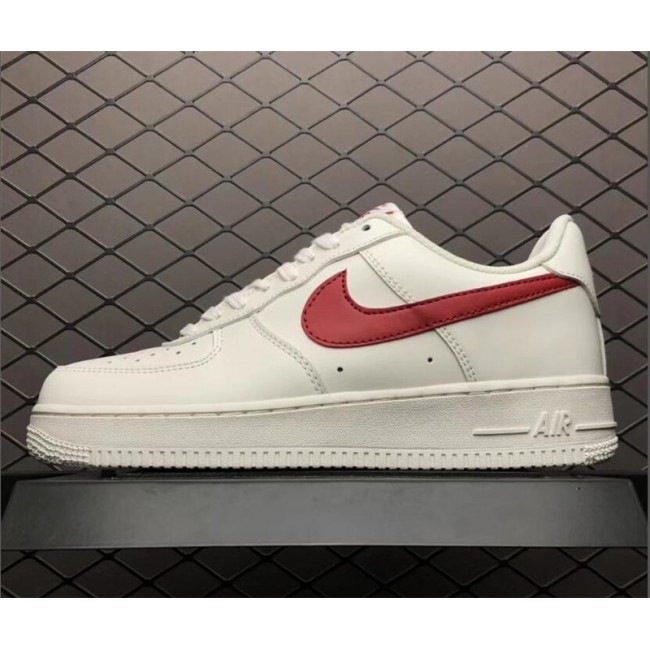 Mens/Womens Nike Air Force 1 Low 07 White Red 315122-126