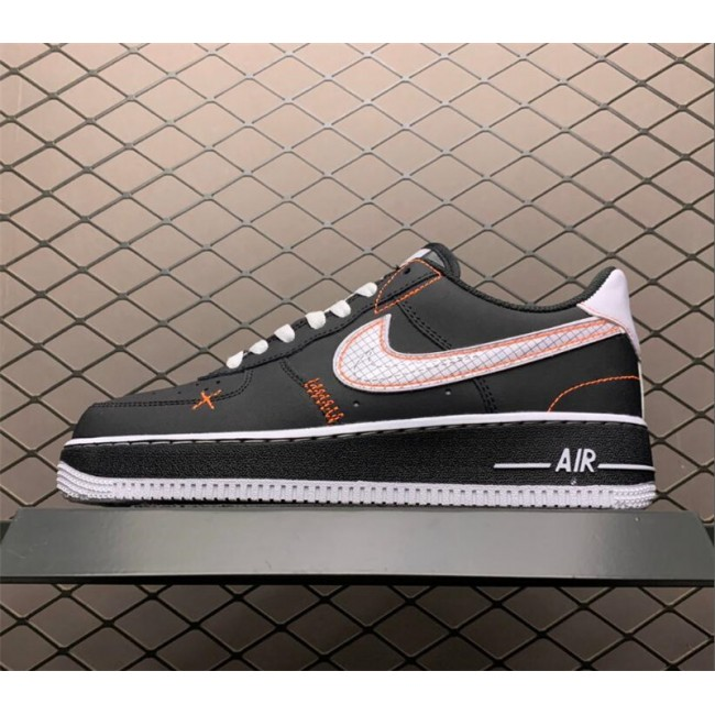 Mens/Womens Nike Air Force 1 Low Exposed Sticthing Black White